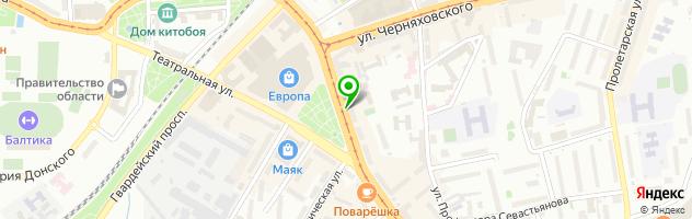 Документальный центр Ксерокс — схема проезда на карте