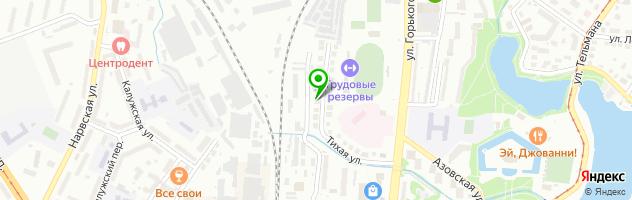 Установочный центр АвтоZONT — схема проезда на карте