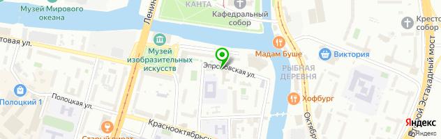 Торгово-сервисная компания Автосвет — схема проезда на карте
