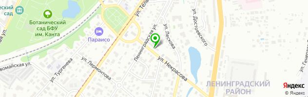 Документальный центр Понарт — схема проезда на карте