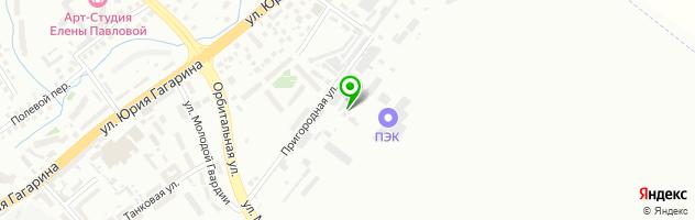 Автосервис Тотал-Авто — схема проезда на карте
