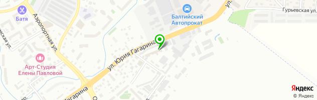 Автотехцентр Гагарина 106 — схема проезда на карте