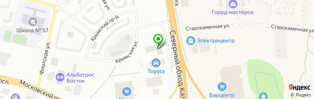Авторизованный дилерский центр Scania — схема проезда на карте