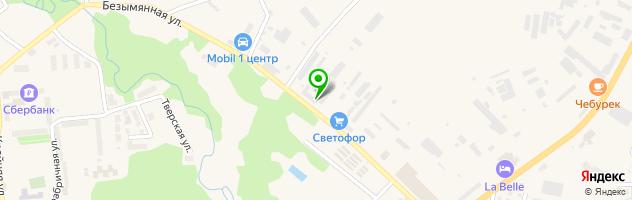 Ритуальное агентство Гурьевское — схема проезда на карте