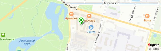 "Часовой Завод ""Ракета"" — схема проезда на карте"