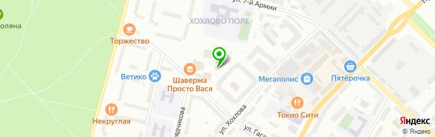 Салон 7 пятниц в Гатчине — схема проезда на карте