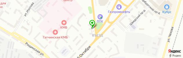 """Частный кинотеатр """"Качели"""" — схема проезда на карте"""