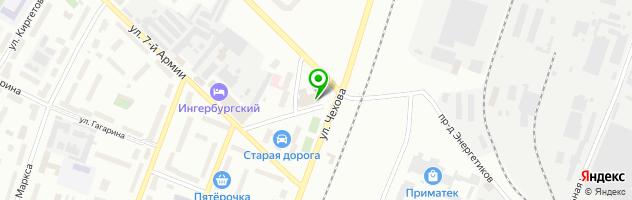Мягкий Диванчик — схема проезда на карте
