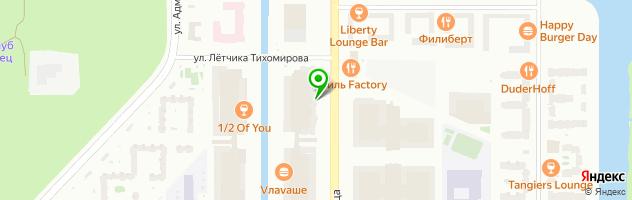 Медицинский центр Балтийская Жемчужина в Красносельском районе — схема проезда на карте