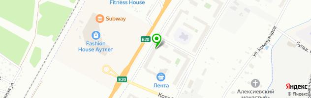 Северо-Западный центр доказательной медицины на Красносельском шоссе — схема проезда на карте