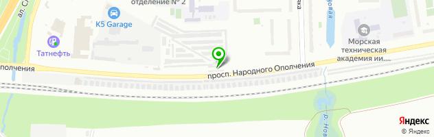 Коллективная автостоянка №14 общественная организация Всероссийское общество автомобилистов — схема проезда на карте