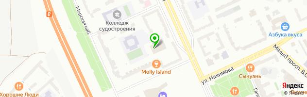 Автокомплекс Euro Professional — схема проезда на карте