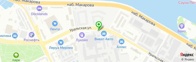 Интернет магазин кожаных рюкзаков SHORNIC — схема проезда на карте