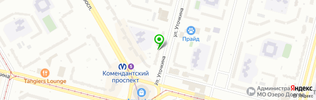 Компания Гарант Сервис — схема проезда на карте