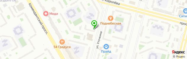 Центр полиграфии Зум — схема проезда на карте