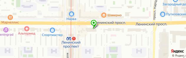 Сеть мастерских — схема проезда на карте