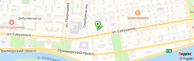 "АО ""СПб ПТП Медтехника"" — схема проезда на карте"