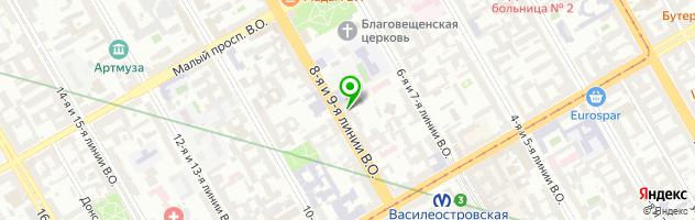 Салон оптики — схема проезда на карте