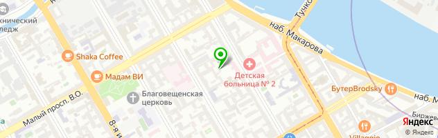 Стоматология Ольга — схема проезда на карте