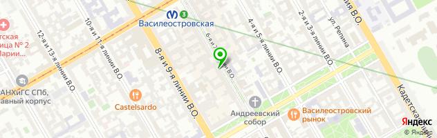 Торговая компания Добрыня — схема проезда на карте