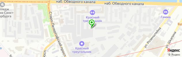 Компания по нанесению изображений на обои Maket Mart — схема проезда на карте