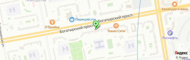 Доброта.ру — схема проезда на карте