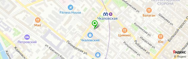 ГарантЪ — схема проезда на карте