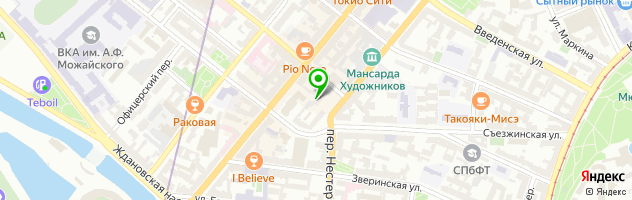 Ресторан европейской кухни Taverna — схема проезда на карте