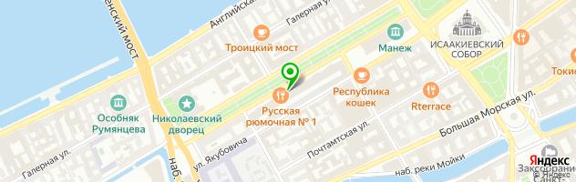 Бар-ресторан Graf-in — схема проезда на карте