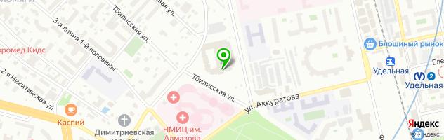 Типография ЛеРо М-Компани на Афонской улице — схема проезда на карте