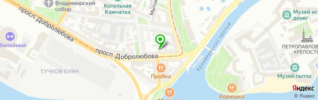 Винная школа Академия Вина — схема проезда на карте