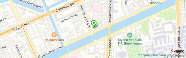 Сервисная компания Берег — схема проезда на карте