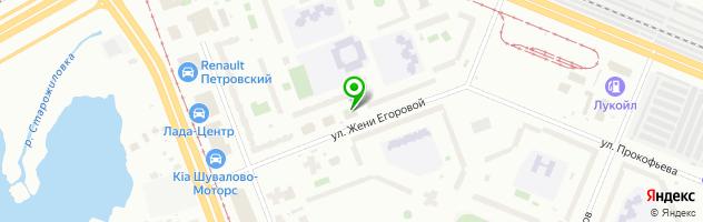 Центр бытовых услуг Бытовик — схема проезда на карте