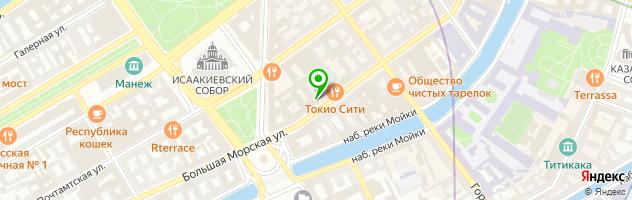 Центральная городская детская библиотека им. А.С. Пушкина — схема проезда на карте