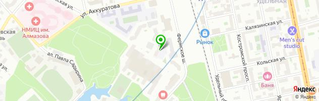 Химчистка Лотос — схема проезда на карте
