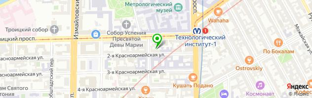 Фотостудия — схема проезда на карте