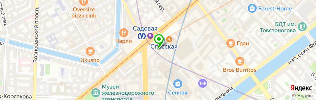 Служба бытовых услуг 5 минут — схема проезда на карте