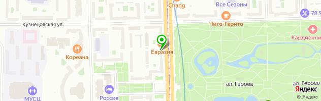 Ювелирная студия Agraf — схема проезда на карте