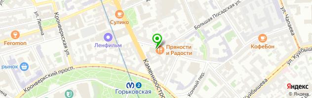 Детская музыкальная школа им. Андрея Петрова — схема проезда на карте