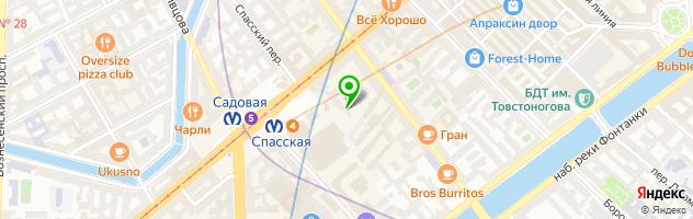 КОПИЦЕНТР — схема проезда на карте
