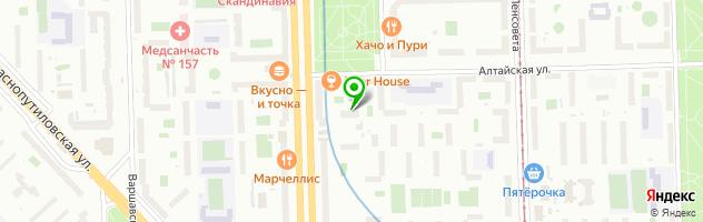 Подростково-молодежный клуб Луч — схема проезда на карте