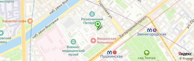 Копицентр On-line — схема проезда на карте