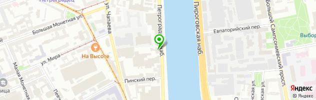Дом Шрёдера. Культурный центр (театр) — схема проезда на карте