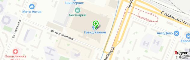 Кинотеатр СИНЕМА ПАРК — схема проезда на карте