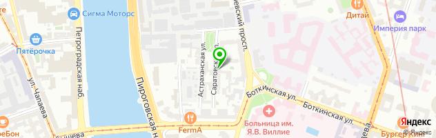 Компания по ремонту принтеров и заправке картриджей 78-print.ru — схема проезда на карте