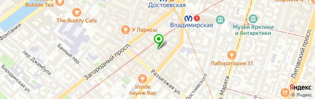 Образовательный центр Egoround — схема проезда на карте