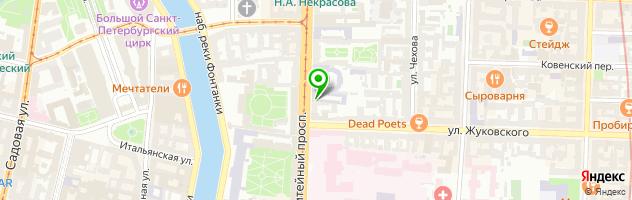 Многопрофильная клиника Дали — схема проезда на карте