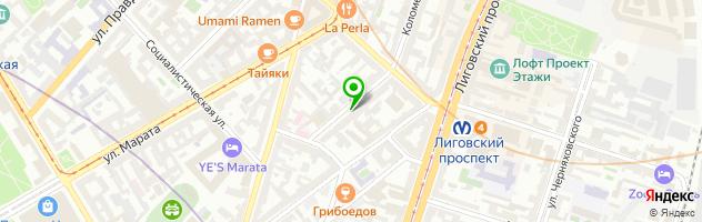 Центр квестов iLocked — схема проезда на карте