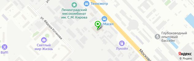 Автосервис Транском-АТ — схема проезда на карте
