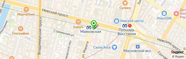 Златоград — схема проезда на карте
